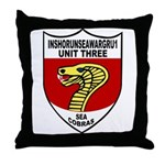 Sea Cobras Throw Pillow