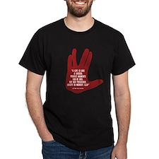 Spocks Final Tweet T-Shirt
