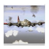 Cool Airplanes Tile Coaster