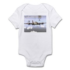 Unique B airplane Infant Bodysuit