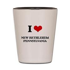 I love New Bethlehem Pennsylvania Shot Glass
