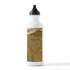Yahir Beach Love Sports Water Bottle