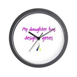 Designer Genes Daughter (P) Wall Clock