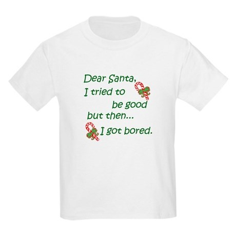 Dear Santa Kids Light T-Shirt