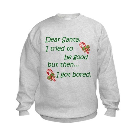Dear Santa Kids Sweatshirt