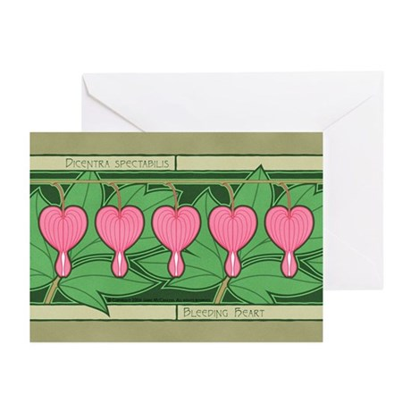 Bleeding Heart Greeting Cards (Pk of 20)