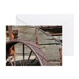 Iron and Wood Greeting Cards (Pk of 20)