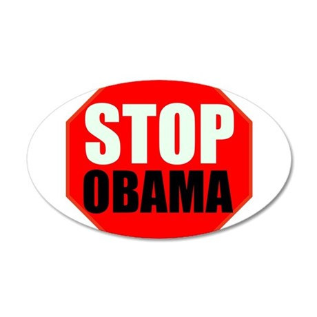 Stop Obama Wall Decal