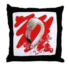 Flamingo Lover Throw Pillow