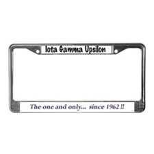 IGU Since 1962 License Plate Frame