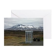 Only In Iceland Greeting Card