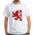 Scottish Lion White T-Shirt
