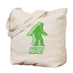 Bigfoot Silhouette Tote Bag - Own a piece of this cryptid mystery, own your Big Foot T-shirt and other cool Big Foot gift items today! 30-day satisfaction & money back guarantee!