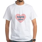 Dolphin Lover White T-Shirt