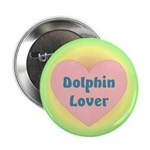 Dolphin Lover Button