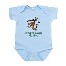 Pepere's Little Monkey Body Suit