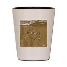 Ulises Beach Love Shot Glass