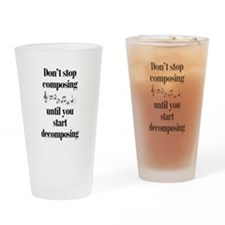 Composing Drinking Glass