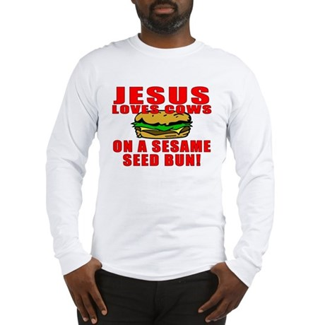 Jesus Loves Animals Long Sleeve T-Shirt