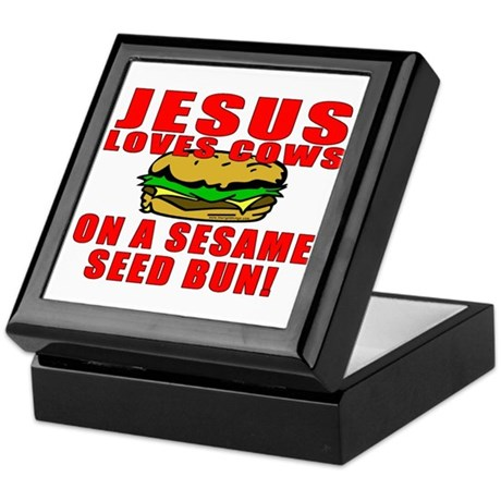 Jesus Loves Animals Keepsake Box