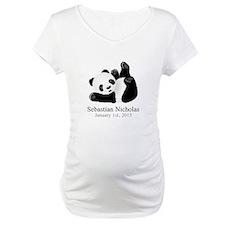 CUSTOM Baby Panda w/Name Birthdate Shirt
