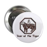 "Year of the Tiger 2.25"" Button (100 pack)"