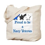 Navy Vet Tote Bag