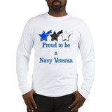 Navy Vet Long Sleeve T-Shirt