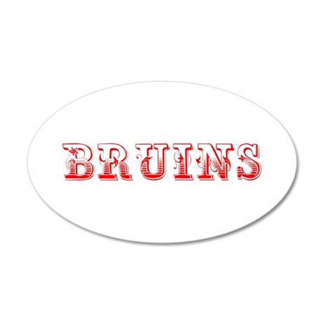 Bruins-Max red 400 Wall Decal
