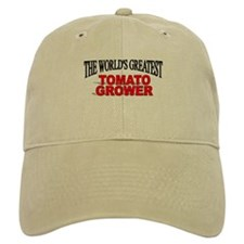 """The World's Greatest Tomato Grower"" Baseball Cap"