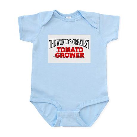 """The World's Greatest Tomato Grower"" Infant Bodysu"