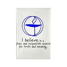 Truth and meaning Rectangle Magnet (10 pack)