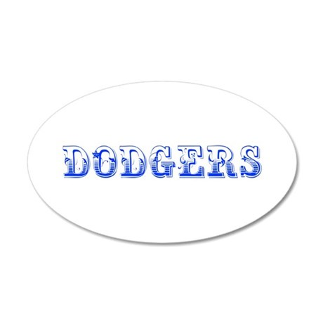 dodgers-Max blue 400 Wall Decal