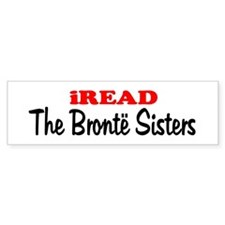 iREAD The Bronte Sisters Bumper Bumper Sticker