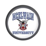 MCELWAIN University Wall Clock
