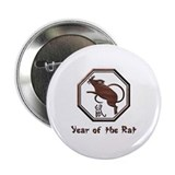 Year of the Rat 2.25&quot; Button (100 pack)