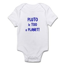 Pluto's a Planet Infant Bodysuit