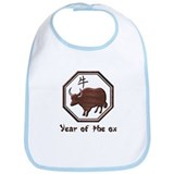 Year of the Ox Bib