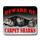 Carpet Shark Mousepad