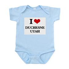 I love Duchesne Utah Body Suit
