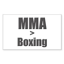 MMA > Boxing Rectangle Decal