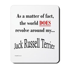 Jack Russell World Mousepad