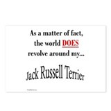 Jack Russell World Postcards (Package of 8)