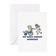 Humorous gifts for nurses Greeting Cards (Pk of 10