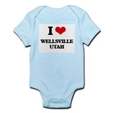 I love Wellsville Utah Body Suit