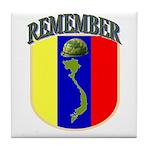 Remember Viet Nam Veterans Tile Coaster