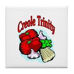 Creole Trinity Tile Coaster