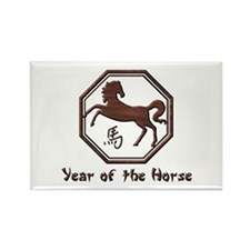 Year of the Horse Rectangle Magnet (100 pack)
