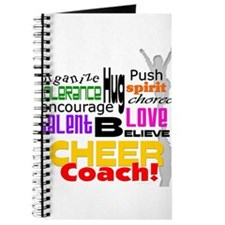 Cheer Coach Words Journal