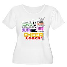 Cheer Coach Words T-Shirt